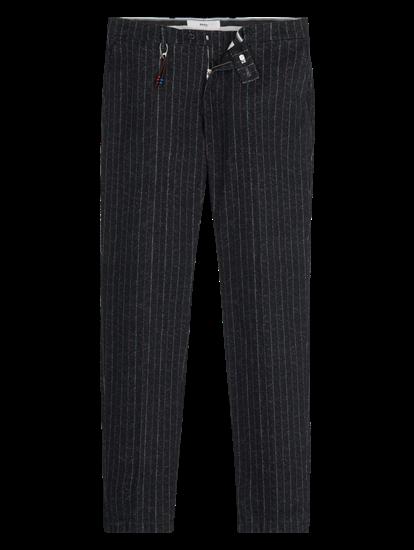 Image sur Pantalon chino Slim Fit à rayures