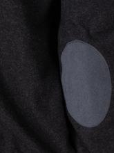 Bild von Strickjacke mit Ellbogen-Patches