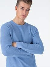Image sur Pullover Regular Fit texturé