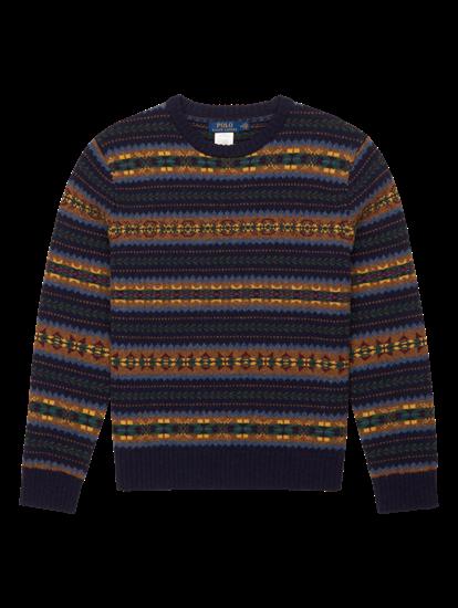 Image sur Pullover motif norvégien