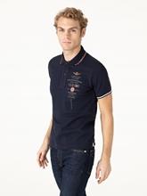Bild von Polo-Shirt mit Stickerei