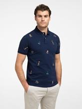 Bild von Polo-Shirt mit Stickereien
