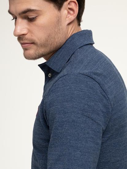 Bild von Polo-Shirt im Custom Slim Fit