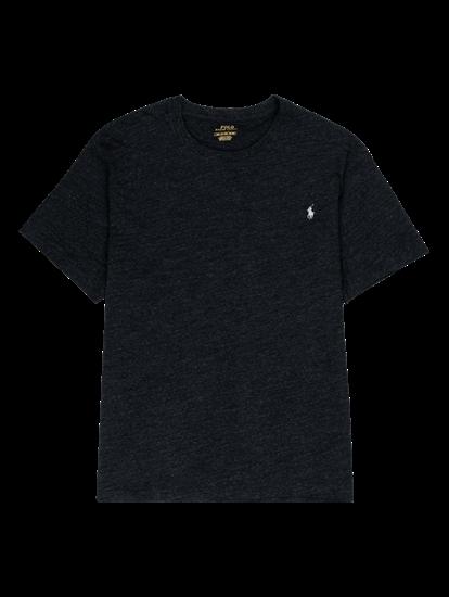 Bild von T-Shirt in melierter Optik mit Logo
