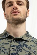 Bild von Polo-Shirt im Shaped Fit aus Piqué mit Print