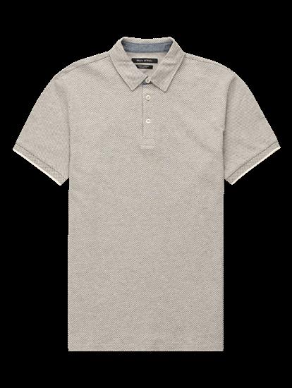 Bild von Polo-Shirt im Shaped Fit aus Jersey Jaquard