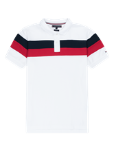 Image sur Polo coton piqué Regular Fit à rayures
