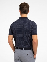 Image sur Polo-Shirt mit Micro-Print