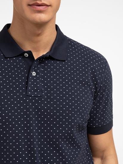 Bild von Polo-Shirt mit Micro-Print