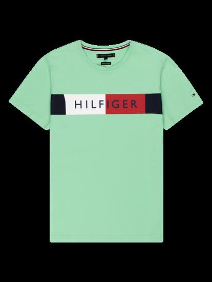 Bild von T-Shirt mit Logo-Print