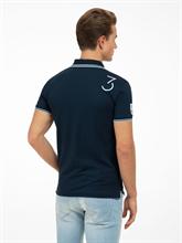 Image sur Polo Slim Fit coton piqué et broderies