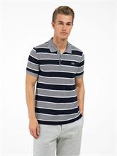 Image sur Polo Regular Fit coton piqué à rayures