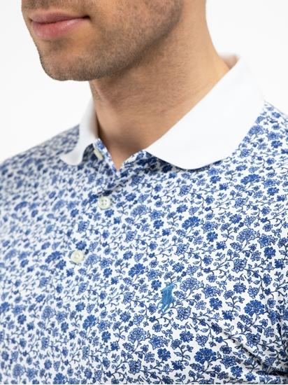 Image sur Polo Slim Fit et imprimé floral
