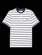 Bild von T-Shirt aus Piqué mit Streifen