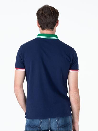 Bild von Polo-Shirt im Custom Slim Fit mit Stickerei