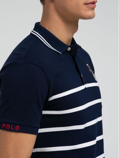 Bild von Polo-Shirt im Slim Fit mit Streifen
