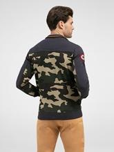 Image sur Veste sweat imprimé camouflage et applications