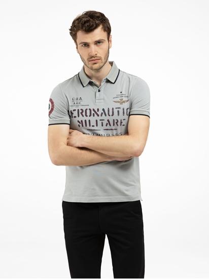 Bild von Polo-Shirt mit Print