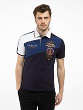 Bild von Polo-Shirt im Slim Fit aus Piqué mit Stickerei
