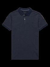 Image sur Polo Shaped Fit à micro-motif