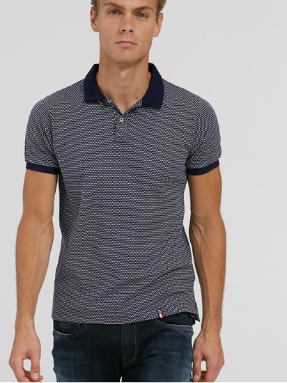 Image sur Polo Slim Fit imprimé
