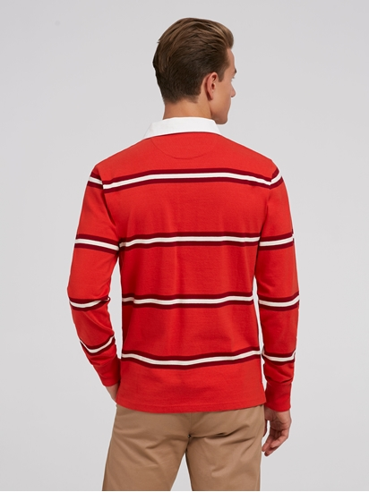 Image sur Shirt de rugby à rayures