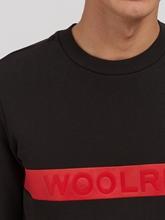 Bild von Sweatshirt mit Logo-Streifen