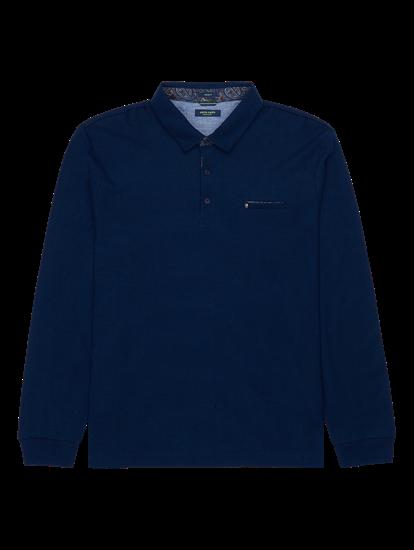 Bild von Polo-Shirt im Modern Fit mit Struktur
