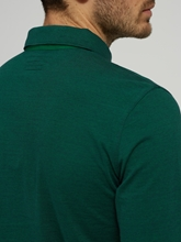 Image sur Polo Shaped Fit à rayures