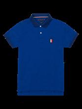 Bild von Polo-Shirt im Slim Fit in melierter Optik