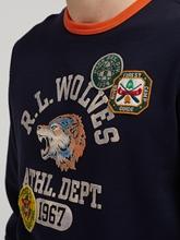 Bild von Sweatshirt mit Print und Patches