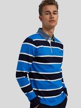 Image sur Chemise de rugby à rayures multicolores