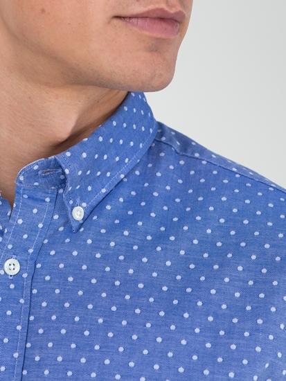Image sur Chemise Regular Fit à pois