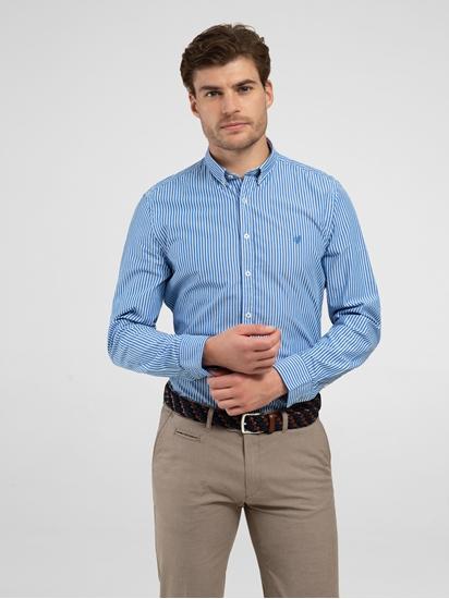 Bild von Hemd im Shaped Fit mit Streifen