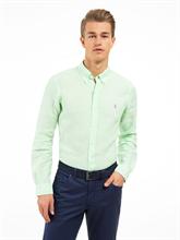 Bild von Hemd aus Leinen mit Streifen