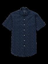 Bild von Hemd aus Seersucker mit Print