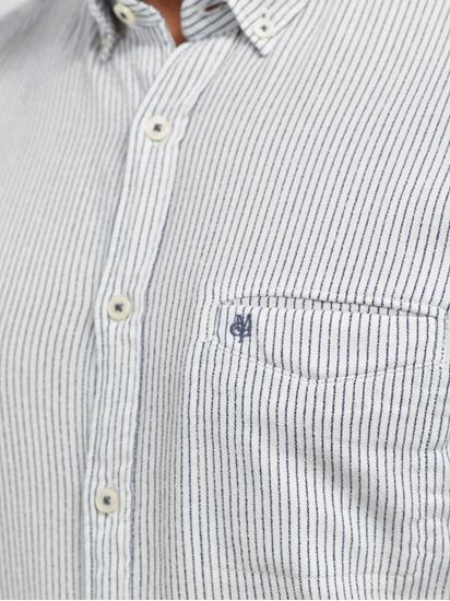 Image sur Chemise Shaped Fit à rayures