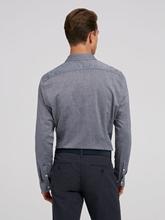 Image sur Chemise Shaped Fit motif à chevrons