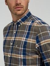 Image sur Chemise Shaped Fit à carreaux
