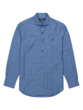 Bild von Hemd aus Flanell mit Karo im Custom Fit