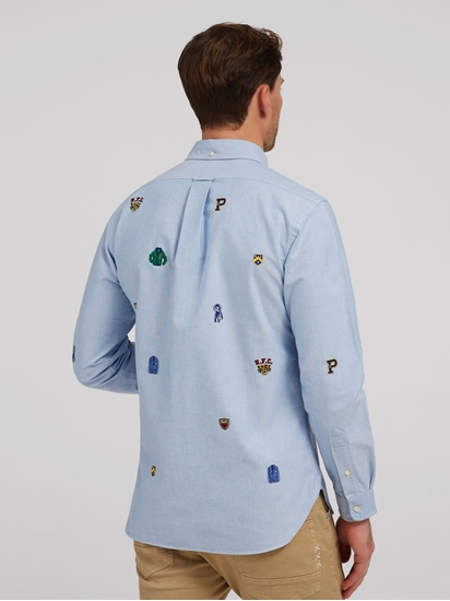 Bild von Hemd im Custom Fit mit Stickereien