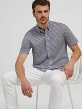 Bild von Hemd aus Piqué mit Karo