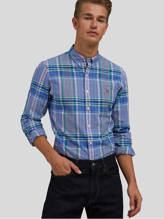 Bild von Hemd mit Karo-Muser im Slim Fit