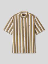 Bild von Kurzarm Hemd mit Streifen