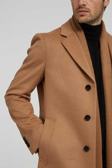 Image sur Manteau laine Slim Fit