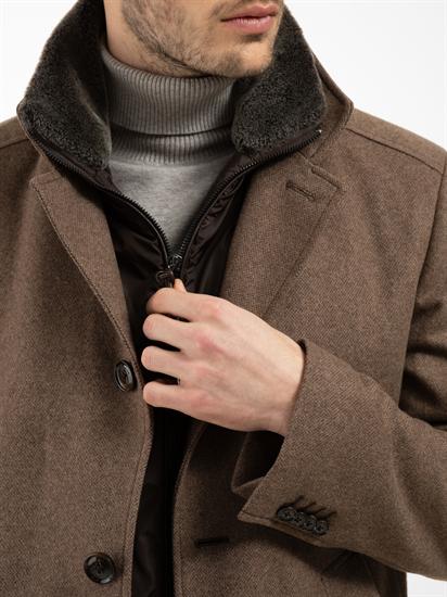 Image sur Manteau texturé doublure détachable