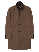 Image sur Manteau texturé avec doublure détachable