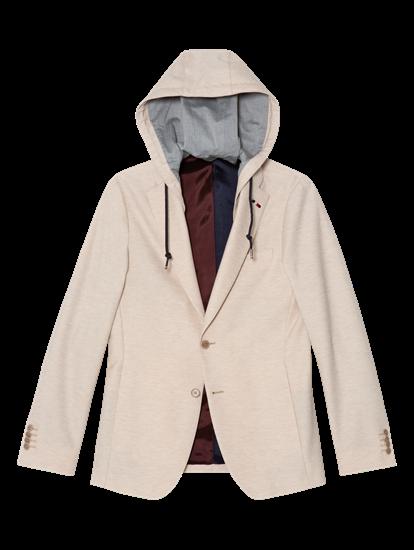 Image sur Veston jersey à capuche