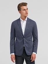 Image sur Veston jersey motif pied-de-coq et coudières