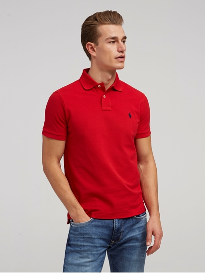 Bild von Polo-Shirt aus Piqué im Custom Fit